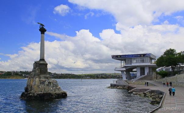 Памятник затонувшим кораблям  Ухта