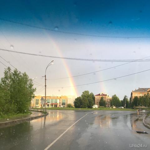 После дождичка Природа Ухты и Коми Ухта