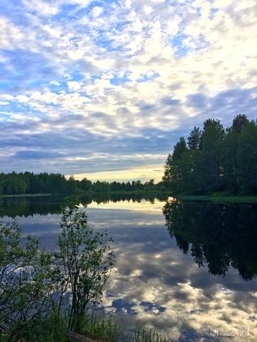 Перед закатом Природа Ухты и Коми Ухта