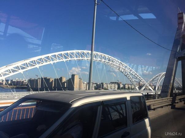 Борский мост. г. Н.НОвгород На дороге Ухта