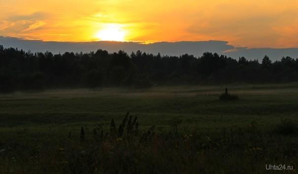 Вечер Природа Ухты и Коми Ухта