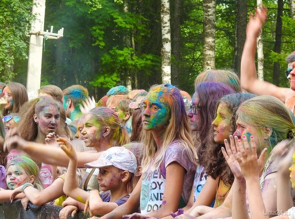 Фестиваль красок Мероприятия Ухта