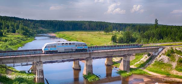 Ж/Д мост через р.Айюва, п.Керки  Ухта