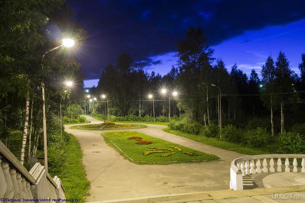 Вечер... Улицы города Ухта