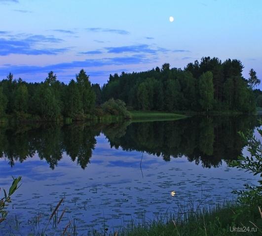Летняя ночь в Коми Природа Ухты и Коми Ухта