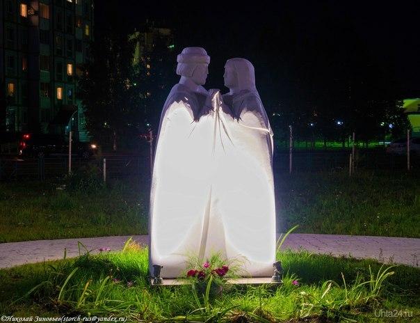 Пётр и Февронья - идеал семейной верности и любви! Памятники Ухта