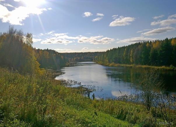 Осенний день на Ухте Природа Ухты и Коми Ухта