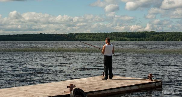 Вот такая рыбалка  Ухта