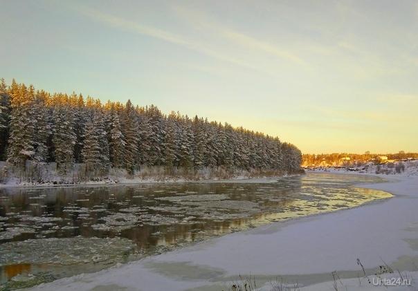 В конце ноября на Ухте Природа Ухты и Коми Ухта