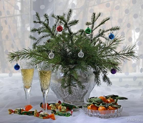 С наступающим Новым годом! Новый год Ухта