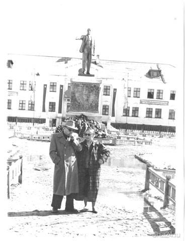Родители.Сосногорск, ж/д часть. 1958г.  Ухта