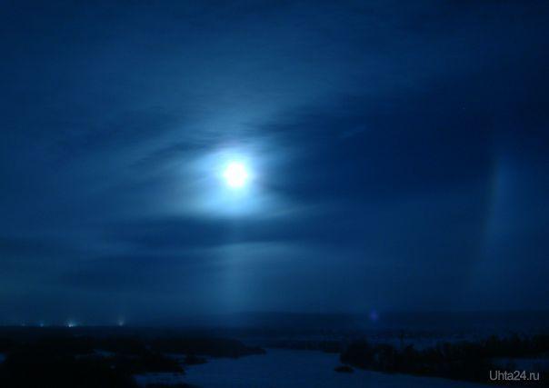 Ночная радуга Природа Ухты и Коми Ухта