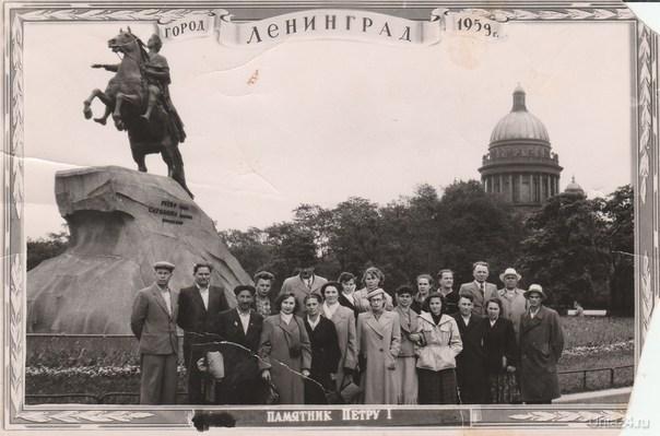 1959 год Ухтинская группа в Ленинграде Из глубин истории Ухта