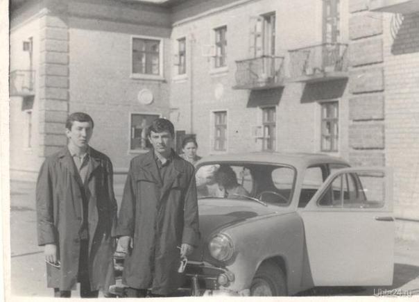 мой дядя с другом 1971 год Из глубин истории Ухта