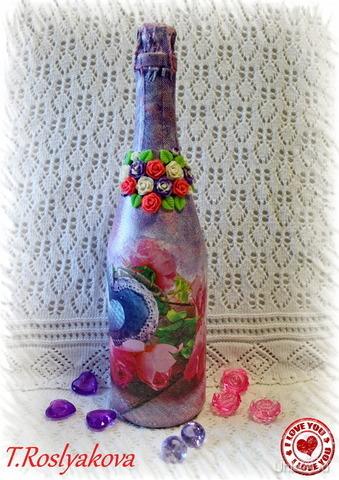 Декор шампанского на заказ, на любое торжество ПОДАРКИ РУЧНОЙ РАБОТЫ УХТА Ухта