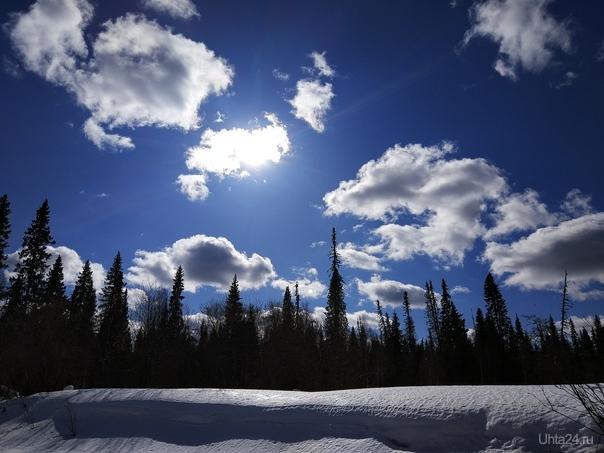 Облака Природа Ухты и Коми Ухта