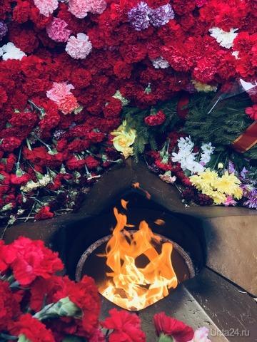 9 мая 2018н. Вечный огонь. Памятники Ухта
