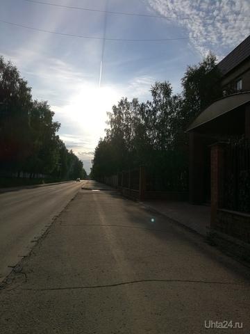 Утро 8 июля 2018 Улицы города Ухта