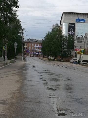 Ул.Октябрьская, 4 часа утра Улицы города Ухта