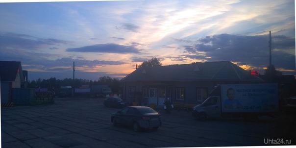 Закат в Даниловке,Мурашинский район. Разное Ухта