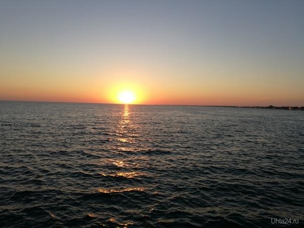 Чёрное море 2018  Ухта