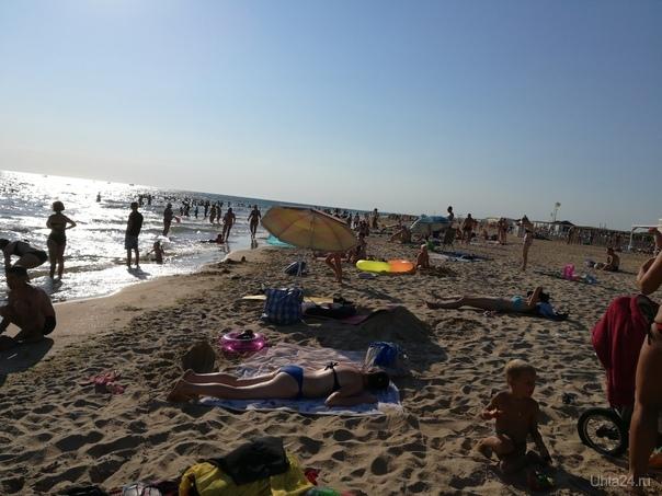 Витязево, пляж, вечер 05.08.18 Мир глазами ухтинцев Ухта