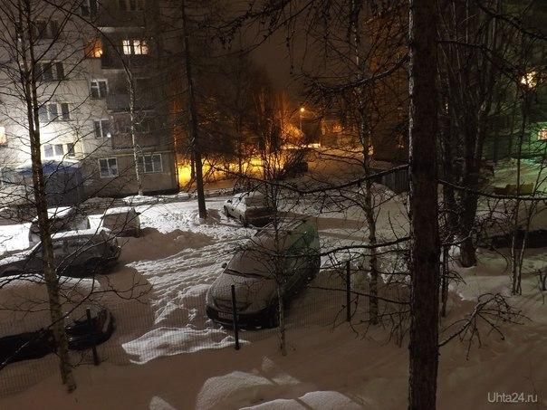 Кусочек зимы. Фото 10 января. Разное Ухта
