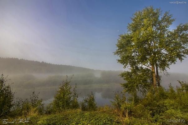 сентябрьское утро  Ухта