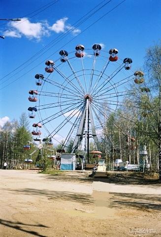 во чо нарыл, взрослый парк, примерно 1999 г. Улицы города Ухта