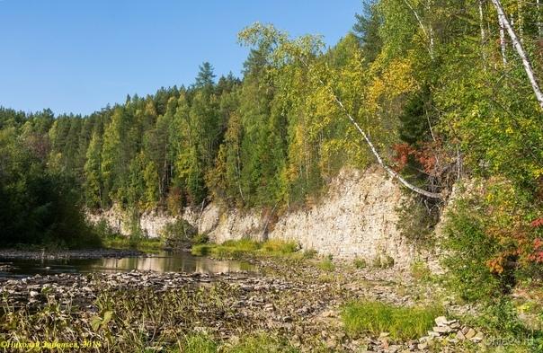 Осенние краски Чути. Природа Ухты и Коми Ухта