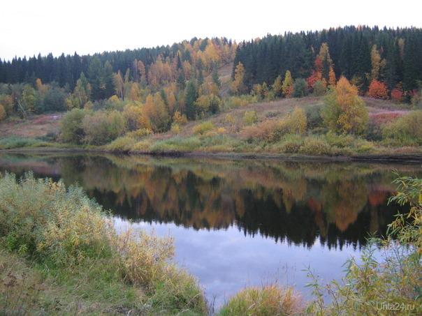 Река ухта осенью Природа Ухты и Коми Ухта