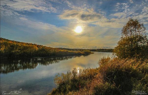 осень Природа Ухты и Коми Ухта