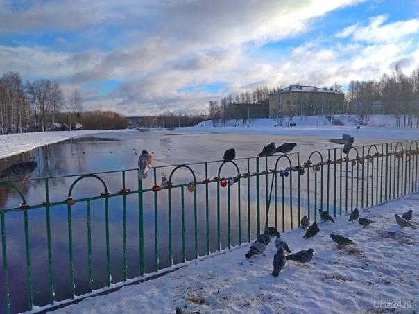 В парке КиО Улицы города Ухта