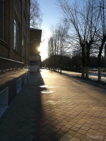 осеннее солнышко обрадовало Улицы города Ухта