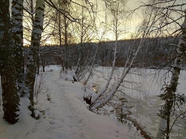 Первые дни календарной зимы на Ухте  Ухта