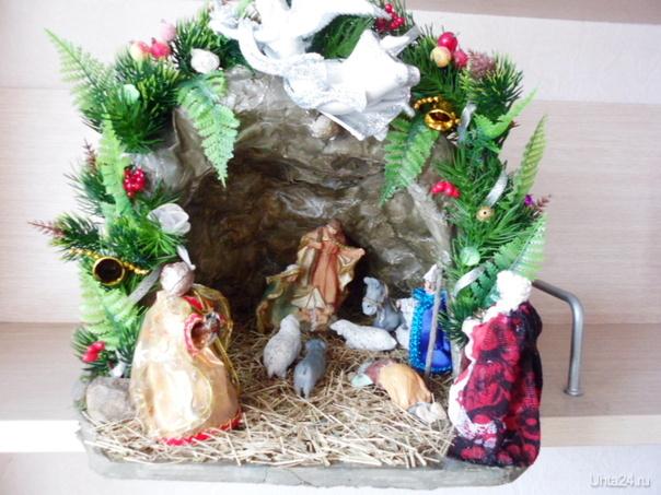 Поздравляю всех земляков с Рождеством! Творчество, хобби Ухта