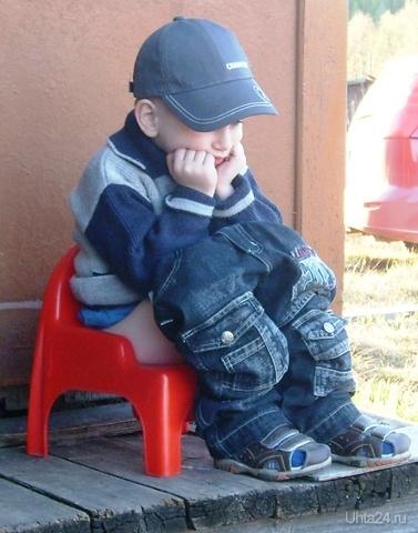 Пап,зад новый, я подумаю подольше. Да и чего ты маму не послушал в выборе джинсов,ширинка на уровне лица.Понимаю что на вырост,тебе бы так Разное Ухта