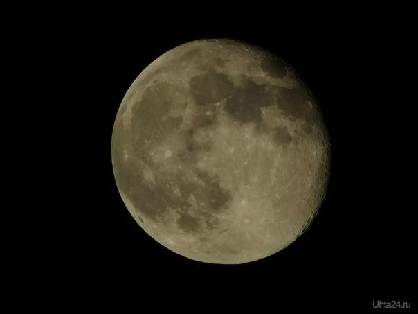 луна луна  Ухта