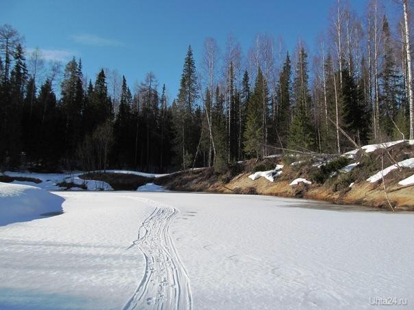 у нас так,хош снег,хош лёд,хош песок,да и солярий рядом не стоял Природа Ухты и Коми Ухта
