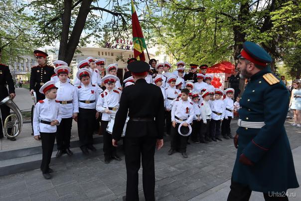 День победы! Улица Большая Покровская  Ухта