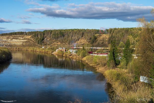 Река Ухта, конец мая...  Ухта