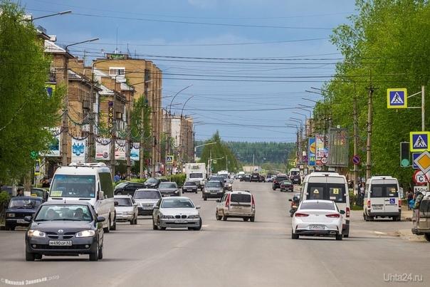 Проспект Ленина, 2,5 км насквозь. Улицы города Ухта
