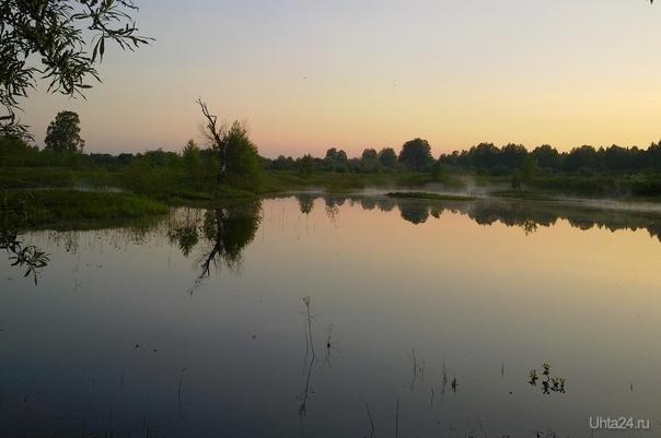 Тихий вечер Природа Ухты и Коми Ухта