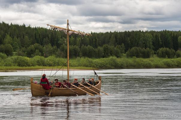 ушкуйники ))  уникальный поход на средневековой ладье по рекам Коми по пути геологоразведочной экспедиции XV века. Разное Ухта