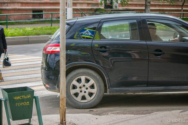 ещё один любитель парковаться на переходе у института повышения квалификации на Мира. 4 Нарушение ПДД Ухта