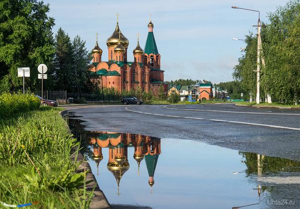 В дождливое лето хоть в отражения можно посмотреть)  Ухта