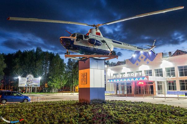 Аэропорт Улицы города Ухта