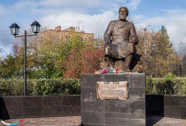 Памятник Фёдору Прядунову. Памятники Ухта