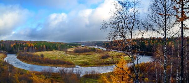 Осень,Чуть и Ухта.. Природа Ухты и Коми Ухта