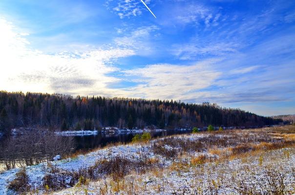 мороз и солнце,день прелестный.. Природа Ухты и Коми Ухта